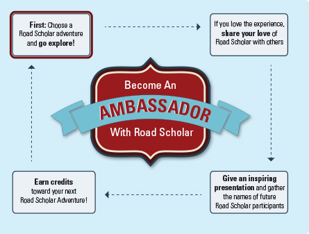 Become An Ambassador With Road Scholar