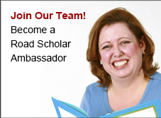 Join our team! See the benefits of being a Road Scholar volunteer ambassador