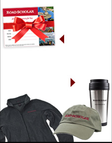Road Scholar Gift Certificates  -- Hats, t-shirts, mugs and more at the Road Scholar store