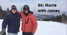 Ski Maine with James