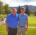 Father & Son Golf in Vermont