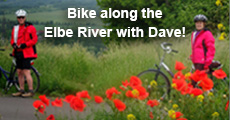Bike along the Elbe River with Dave!