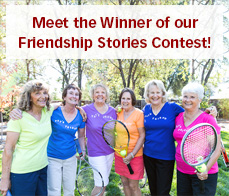 Meet the Winner of our Friendship Stories contest!
